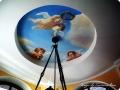 Фотопечать на натяжных потолках, натяжные потолки с фотопечатью